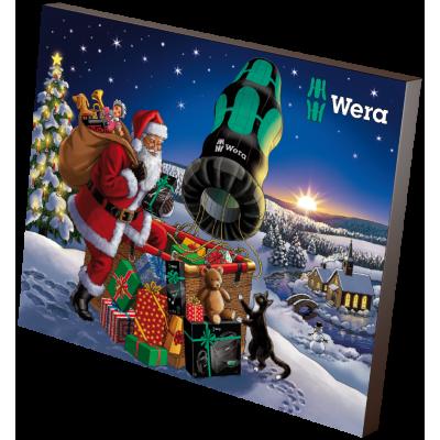 Calendario navideño de Wera...