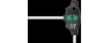 454 HF Destornillador hexagonal de mango transversal Hex-Plus con función de retención