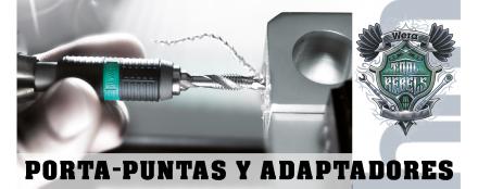 Porta-Puntas, Adaptadores y Piezas de Conexión -Herramientasmadrid.com