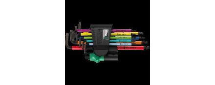 967/9 TX BO Multicolour 1 Juego de llaves acodadas TORX® BO Multicolour, BlackLaser