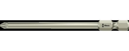 3855/4 Puntas Pozidriv, acero inoxidable